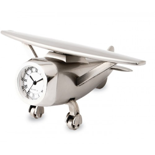 Aeroplane and Desk Clock (Aeroplane-1)