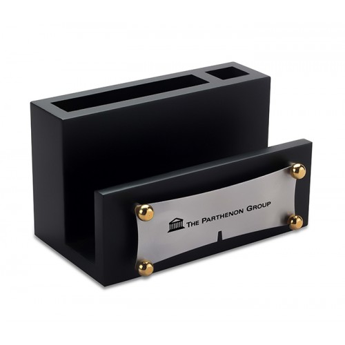 Pen Stand with Card Holder (Code: BTC-480)