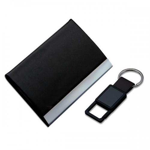 Visiting Card Holder and Keychain Set (Code: Set-9...