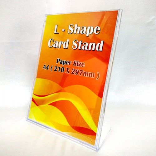 L-Shape Single-side Display Stand (Code: K-170)