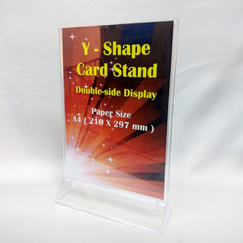 Y-Shape Double-side Display Stand (Code: K-491)
