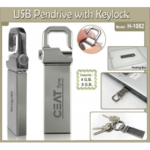 Pen Drive with Keylock (Code: H-1082)