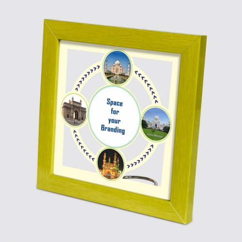 Indian Landmarks See-through Frame