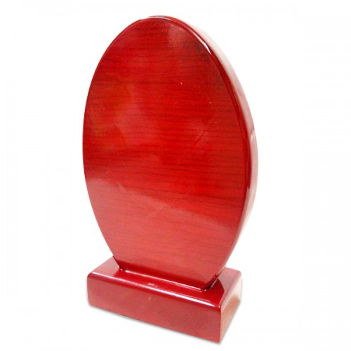 Wooden Trophy (Oval)