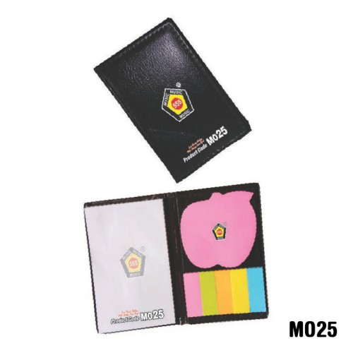 Eco-foam folder with sticky note pad (Code: MO25)