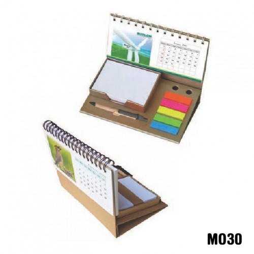 Eco-friendly sticky note pad with calendar (Code: ...