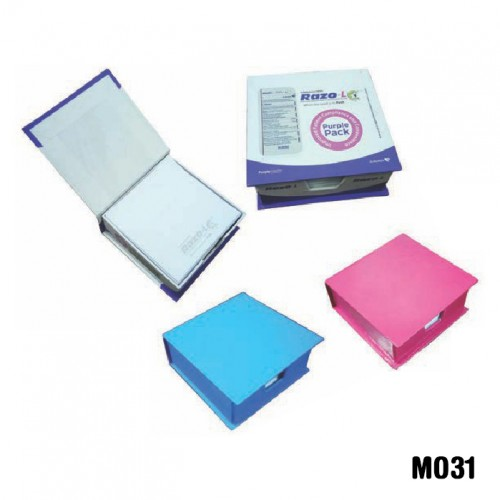 Eco-friendly box with writing note pad (Code: MO31...