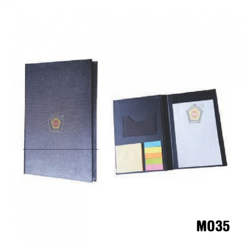 Eco-friendly Diary pad with sticky note and pen (C...