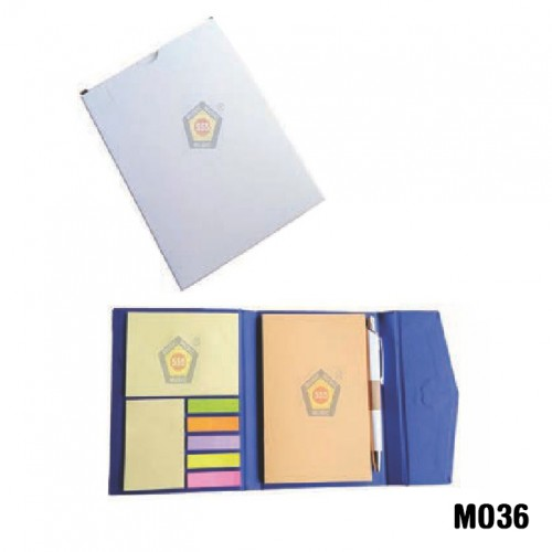 Eco-friendly Diary pad with sticky note and magnet...
